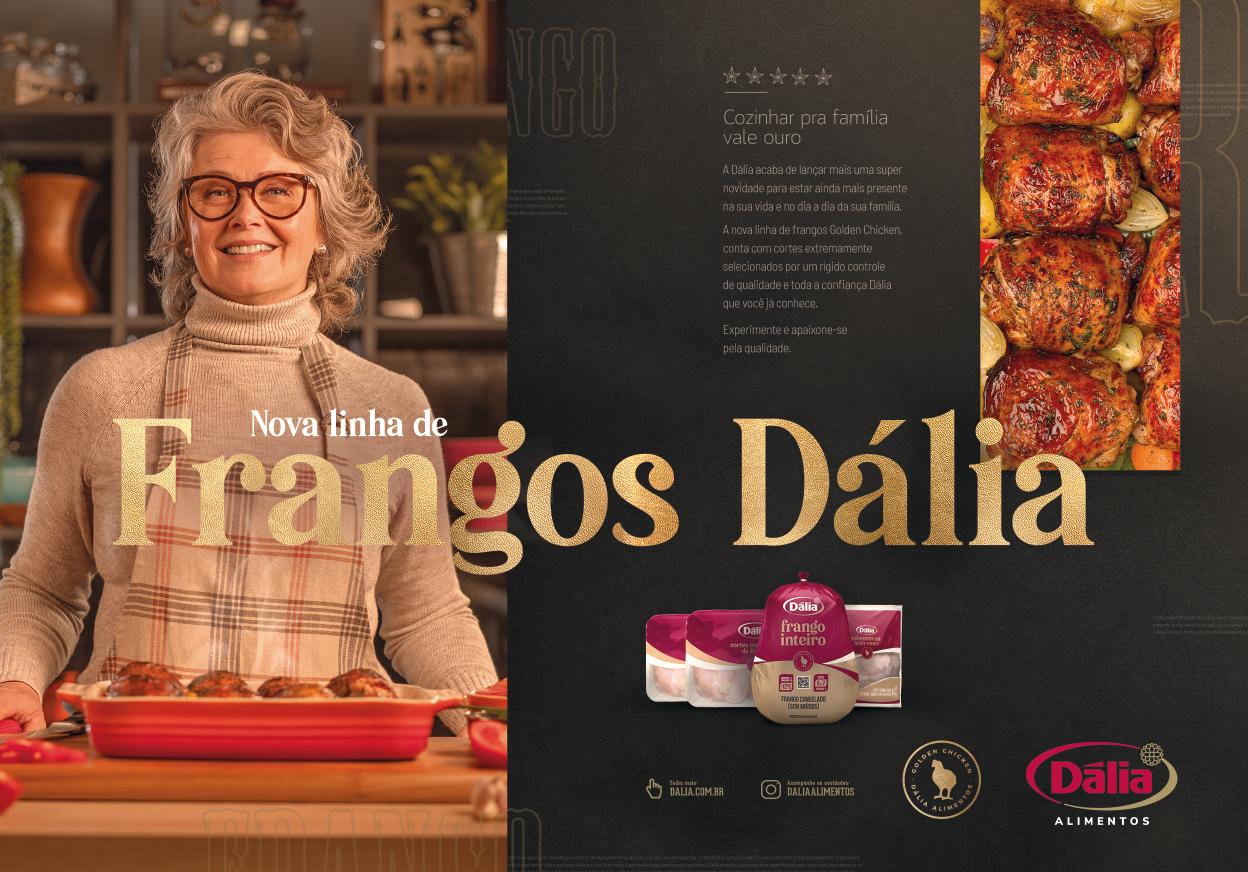 Frangos Dália família senhora publicidade agencia toyz propaganda publicidade campanha alimentos dalia encantado rio grande do sul brasil