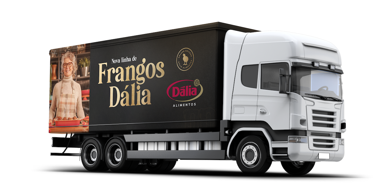 caminhão frangos dália agencia publicidade propaganda rio grande do sul toyz dalia alimentos campanha frangos digital