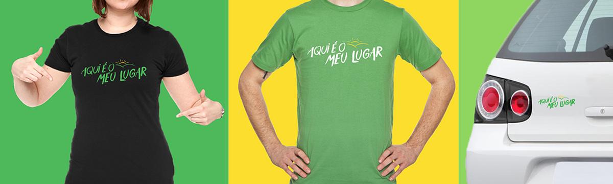 camiseta sicredi arte toyz publicidade adesivo agencia propaganda