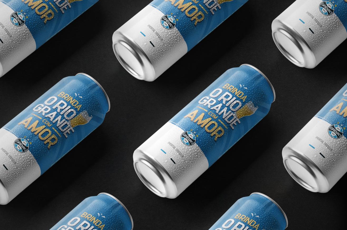 cerveja artesanal gremio primeira melhor ceva tricolor poa porto alegre futebol soccer agencia toyz propaganda rio grande do sul