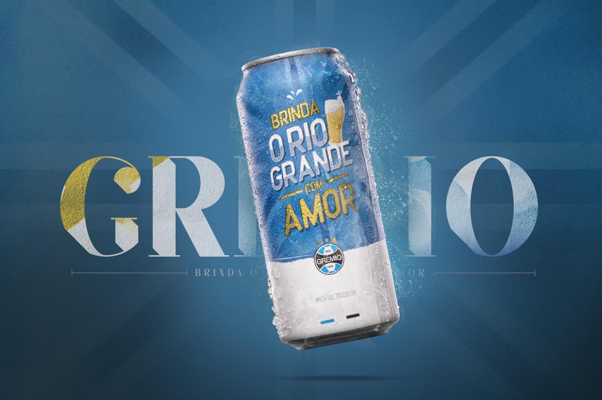 cerveja gremio oficial licenciada agencia toyz propaganda brasil cerveja rotulo mkt marketing rio grande do sul gremio tricolor