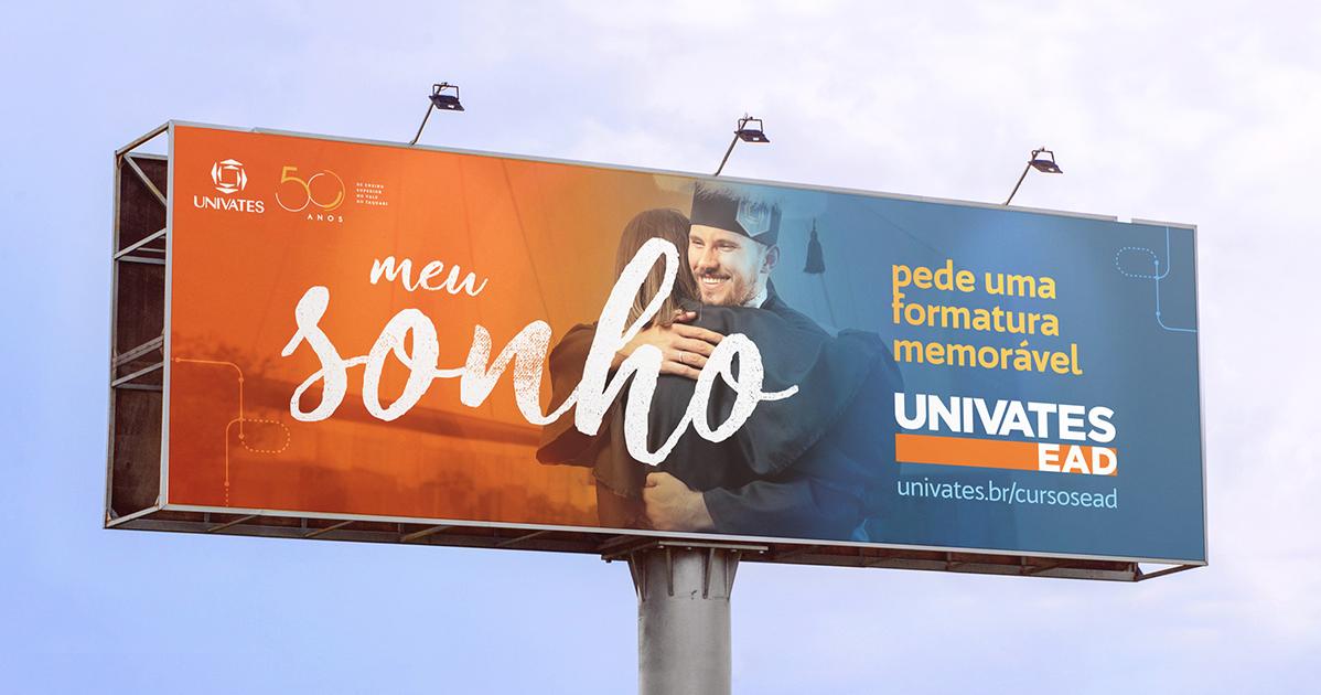 outdoor univates agencia toyz publicidade propaganda ensino a distancia ead melhor