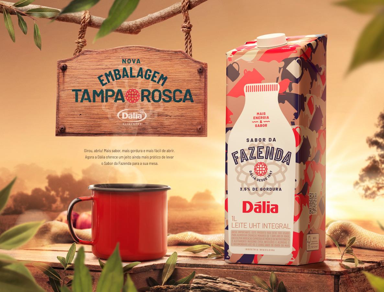 peça horizontal sabor da fazenda leite dalia publicidade toyz propaganda alimetos publicidade propaganda marketing digital anuncio